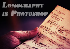 Lomo-Effect on Photographs in Photoshop