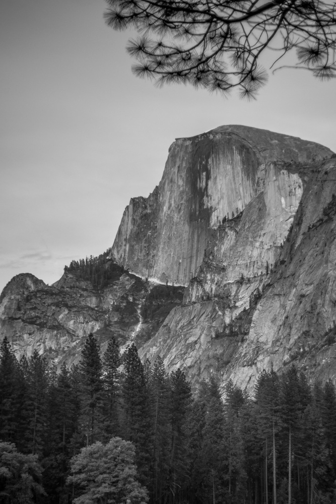 Black-White-Half-Dome-Yosemite