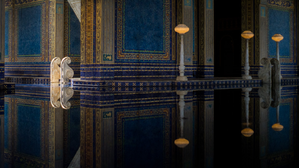 Indoor-Pool-Reflections-San-Simeon