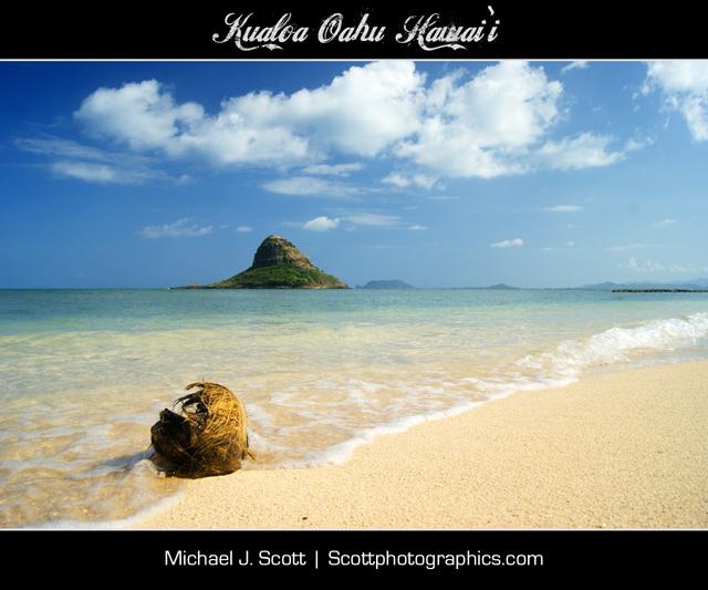 Chinamen's Hat, Kualoa, Oahu, Hawai'i
