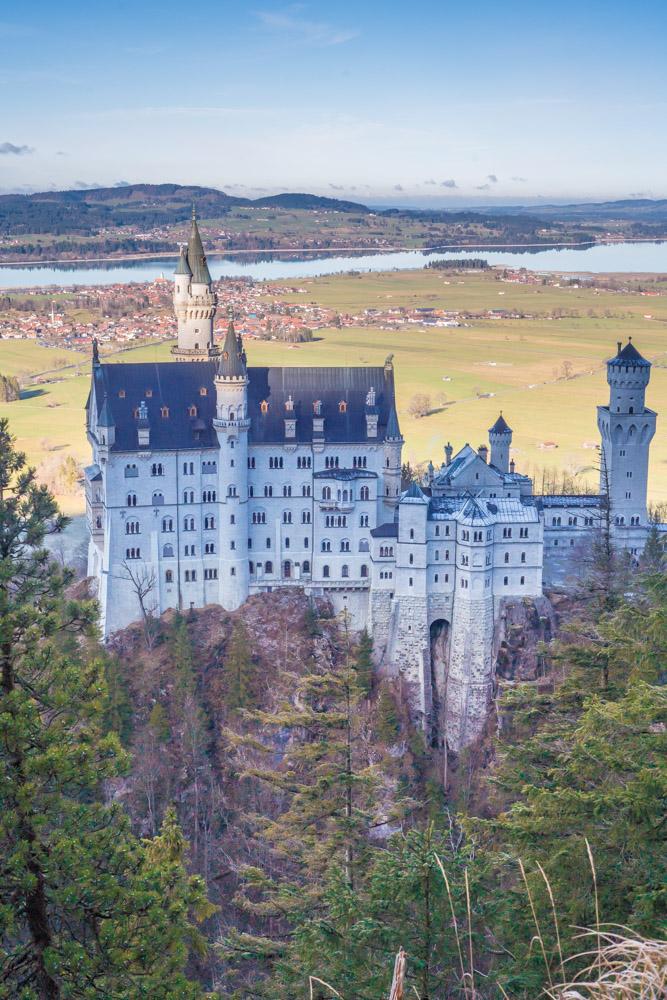 Neuschwanstein-Schloss-Marienbruecke